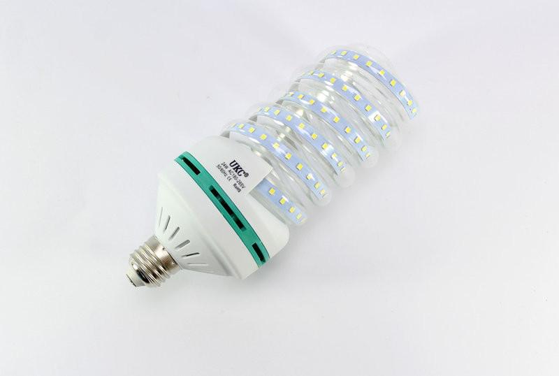 Лампочка LED LAMP E27 24W Спиральная 4026 (45)