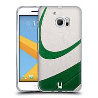 Силиконовый чехол для HTC 10 узор Мяч для пляжного волейбола