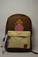 Рюкзак молодёжный Bagland коричнево-бежевый