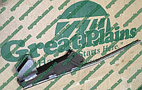 Чистик 404-796H с трубкой удобрений Great Plains 404-796Н SCRAPER запчасти Грейт Плейнз