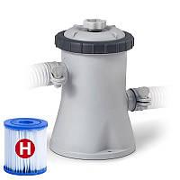 Фильтр-насос для наливных (от 244 до 305 см) и каркасных (305 см) 1250 л/час Intex 28602