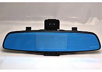Автомобильный видеорегистратор-зеркало с выносной камерой заднего вида EPLUTUS D-17