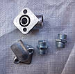 Фланец угловой маслинного насоса НШ-10 +штуцер кольца  , фото 4