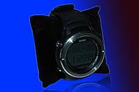 Часы с пульсометром и шагомером Skmei 1111 black