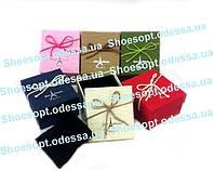 Стильные подарочные маленькие коробки с подушечкой набор 6шт
