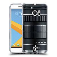 Силиконовый чехол для HTC 10 узор Фотокамера нео