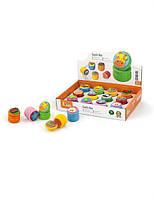 """Шкатулка Viga Toys """"Зубная фея"""", деревянная шкатулка для зубчика, набор 12 шт."""