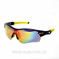 Велоочки Oakley Radar Path (replica) Lifestrong Edition 5 линз, фото 1