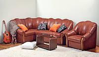 Угловой диван Фаворит (деревянный каркас)