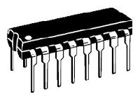 К561ЛН1 шесть логических элементов НЕ с блокировкой и запретом  16-pin (аналог CD4502)