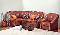 Угловой диван Фаворит (деревянный каркас) 1 ТК
