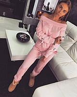 Женский стильный спортивный костюм (расцветки)