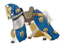 PAPO Фигурка Лошадь с синей попоной