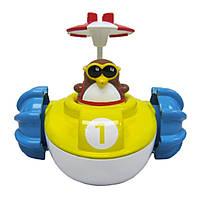 """Water Fun Игрушка для ванны """"Пингвинчик на водном велосипеде"""""""