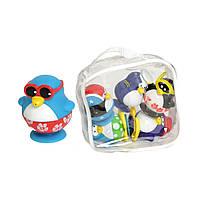 """Water Fun Игрушка для ванны """"Пингвины на пляже"""" набор из 6 пингвинов в сумке"""