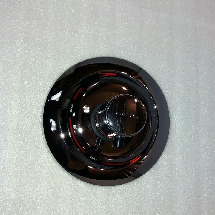 Зовнішня частина термостата Kludi 356190518 хром
