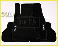 Ворсовые коврики BMW 5 series (E60), Полный комплект, (хорошее качество), БМВ 5