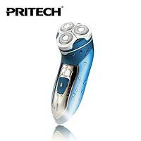 Аккумуляторная бритва Pritech RSM 1129, беспроводная электробритва