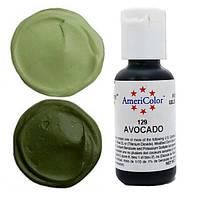 Пищевой краситель гелевый Americolor авокадо (Avocado) 21г.