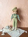 """Вінтажна лялька-хлопчик """"Ернст"""" (40 див.), фото 3"""