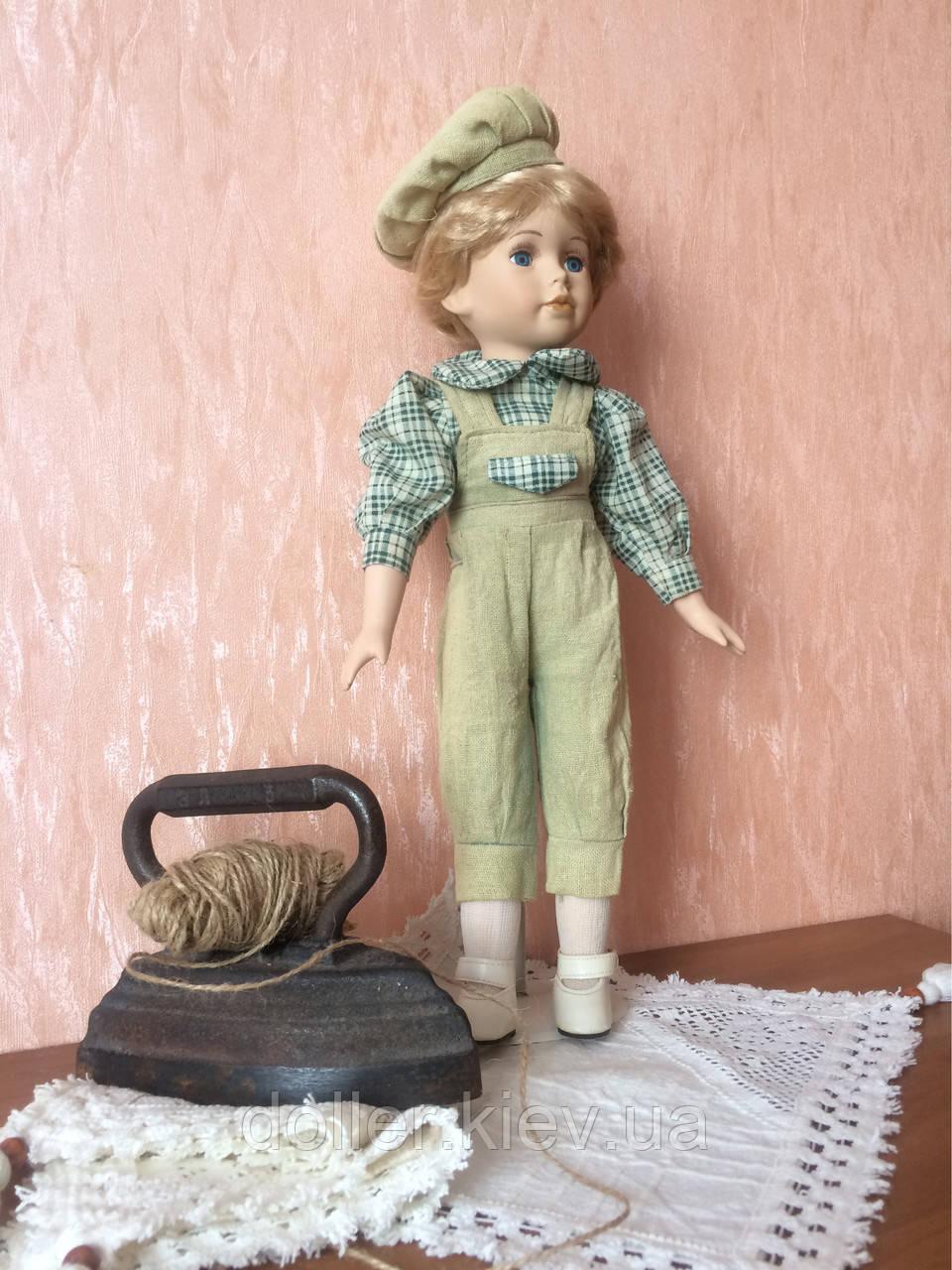 """Вінтажна лялька-хлопчик """"Ернст"""" (40 див.)"""