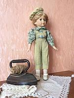 """Винтажная кукла-мальчик """"Эрнст"""" (40 см.)"""
