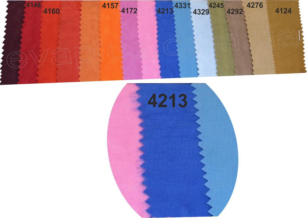 Ткань тентовая акрил (мрамор) Синий 4213, 1400