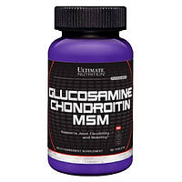 Для суставов и связок Ultimate Nutrition Glucosamine and Chondroitin and MSM (90 таб.)