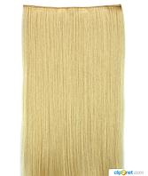 Накладные волосы трессы 60 см цвет блонд