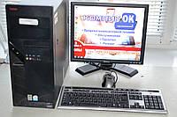 Компьютер в сборе 2х ядерный 2х2,4 Ггц/2Гб ОЗУ/80 Гб HDD