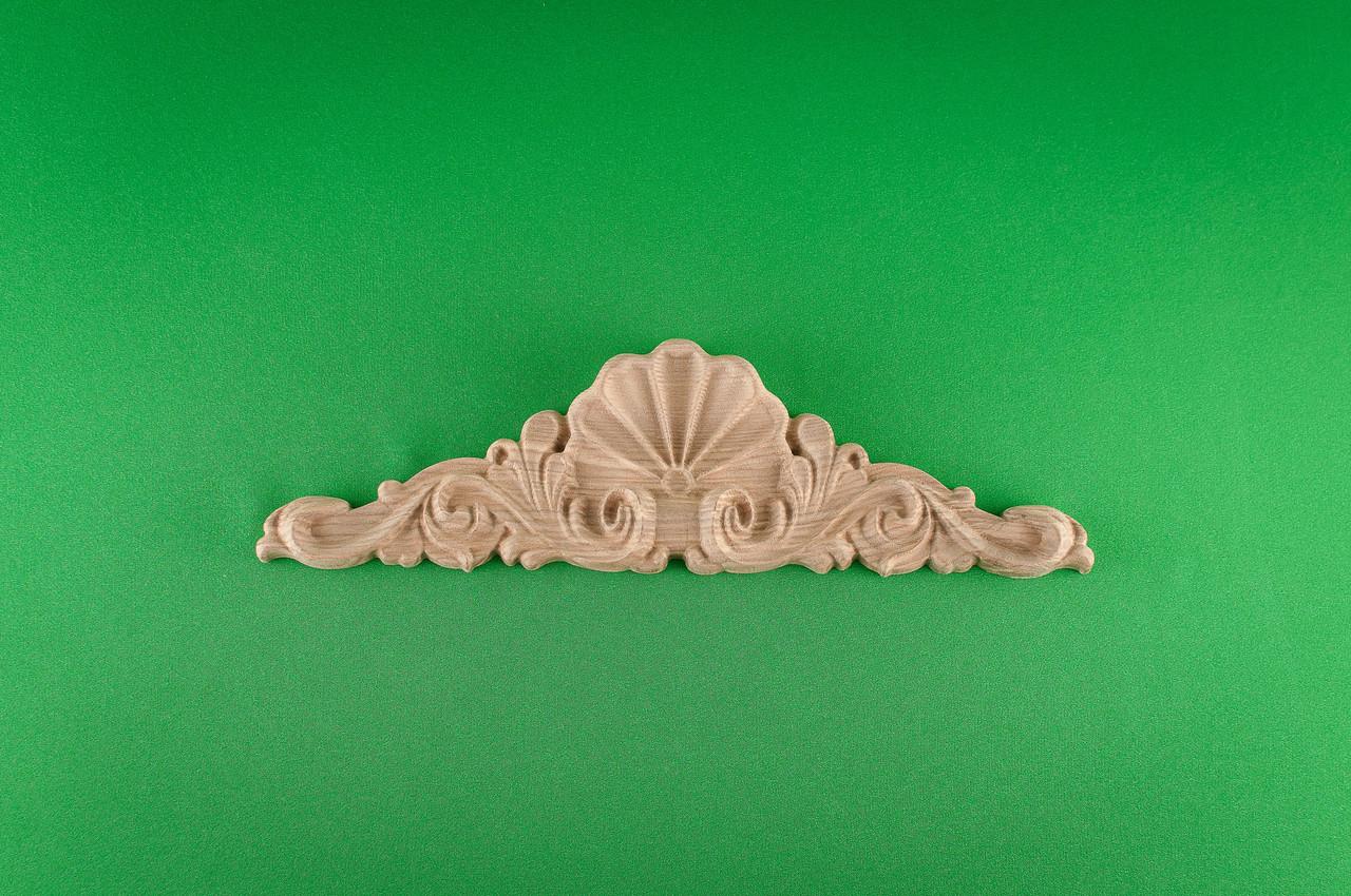 Код ДГ 36.Деревянный резной декор для мебели. Декор горизонтальный