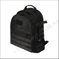 Тактический рюкзак 30 литров черный для военных, рыбалки, туризма кордура