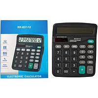 Калькулятор настольный КК-837-12 / 15х12 см
