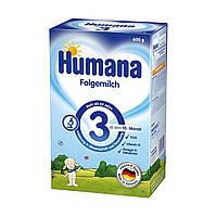 Сухая молочная смесь Humana 3 с пребиотиками, 600 г 78215 ТМ: Humana