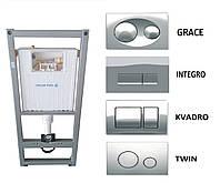 Система инсталляции KOLLER POOL Alcora ST1200 (кнопка, изоляционная плита)