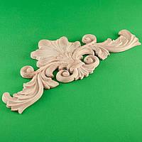 Код ДЦ2. Резной деревянный декор для мебели. Декор центральный