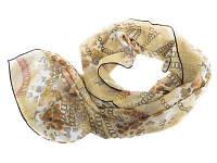 Лучший корпоративный подарок к праздникам шарф крепдишин VENERA (ВЕНЕРА) C270025-green