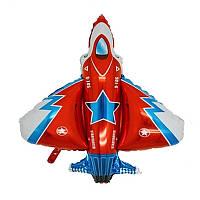 """Шарик воздушный""""Самолет F-35 малый""""  Фигура Фольга"""