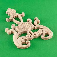 Код ДЦ6. Резной деревянный декор для мебели. Декор центральный