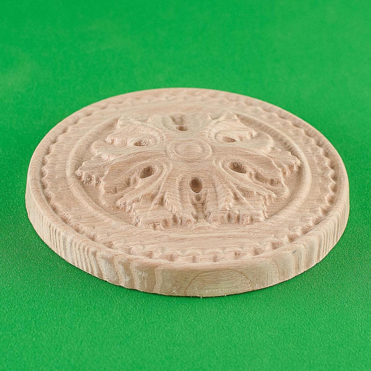 Код ДЦ7. Резной деревянный декор для мебели. Декор центральный