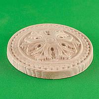 Код ДЦ7. Резной деревянный декор для мебели. Декор центральный, фото 1