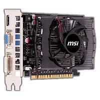 Видеокарта MSI GF GT730 2GB GDDR3 игровая мощная нвидиа ДЖИДДР 3 мсиай 2 ГБ