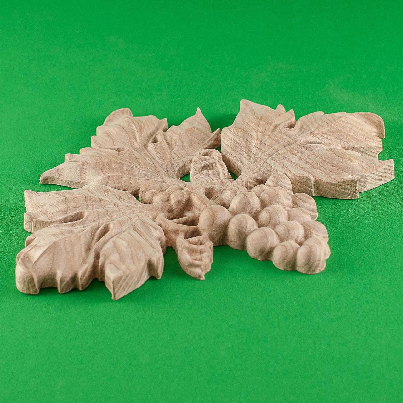 Код ДЦ10. Резной деревянный декор для мебели. Декор центральный