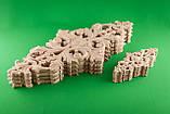 Код ДЦ11. Резной деревянный декор для мебели. Декор центральный, фото 4