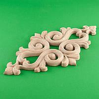 Код ДЦ12. Резной деревянный декор для мебели. Декор центральный, фото 1