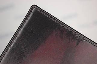 Кошелёк мужской из натуральной кожи Comodo Toronto, тёмно-коричневый, фото 3
