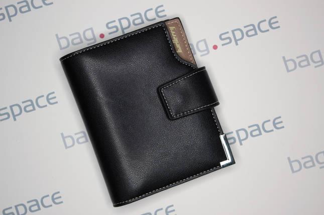 Кошелёк мужской Baellerry Compact no zip, чёрный, фото 2