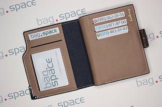 Кошелёк мужской Baellerry Compact no zip, чёрный, фото 3