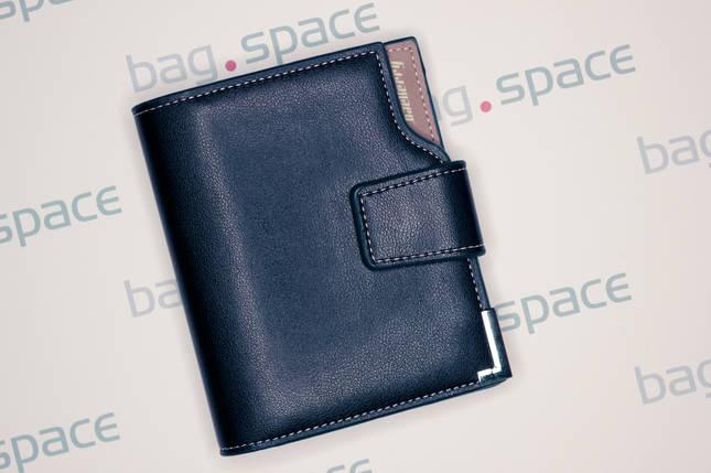 Кошелёк мужской Baellerry Compact no zip, тёмно-синий, фото 2