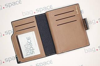 Кошелёк мужской Baellerry Compact no zip, тёмно-синий, фото 3